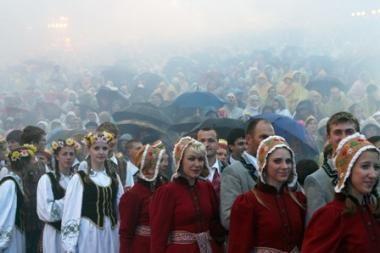 Per Dainų šventę Vilniuje dirbs 1070 pareigūnų daugiau