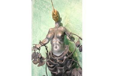 Iš restorano pavogė metalinę skulptūrą