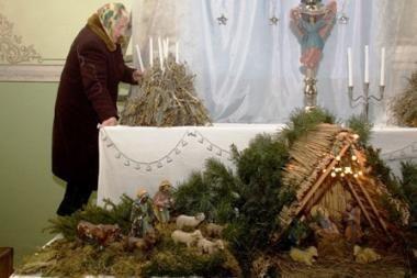 Svarbiausias kalėdinis atributas –  Betliejaus prakartėlės