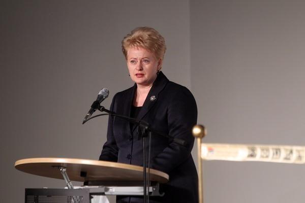 D.Grybauskaitė: Rusijai neturi būti nuolaidžiaujama