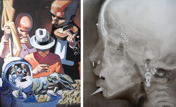 Parodoje – klaipėdiečių R.Marčiaus ir R.Martinionio tapybos atodangos
