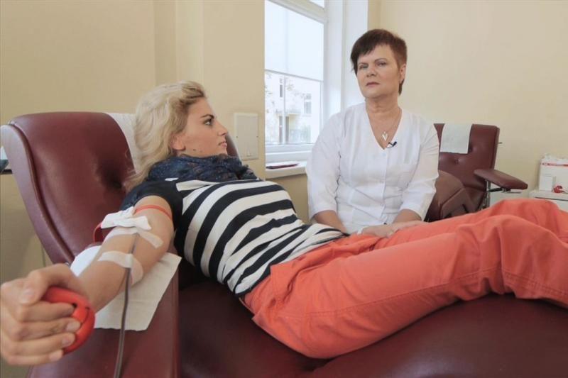 Naujas televizijos veidas G. Laškaitė viešai tapo kraujo donore