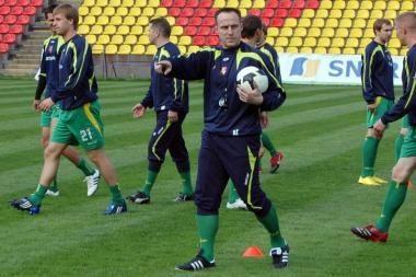 Lietuvos futbolo rinktinės tikslas – iškovoti Baltijos taurę