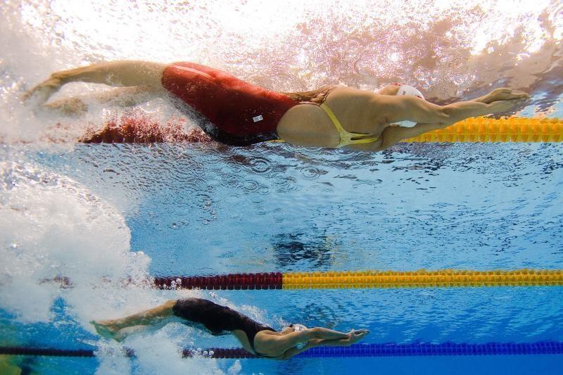 Lietuvos plaukimo čempionate pasiekta gausybė rekordų