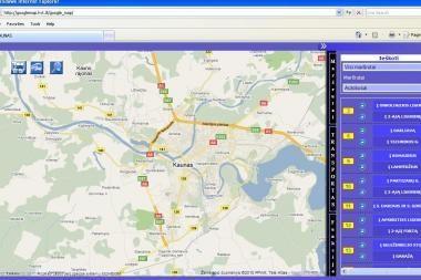 Kauno viešajame transporte - technologijos naujovės