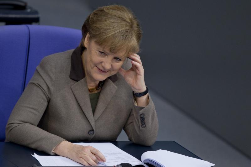 Vokietijos rinkimuose iššūkį Merkel mes buvęs finansų ministras