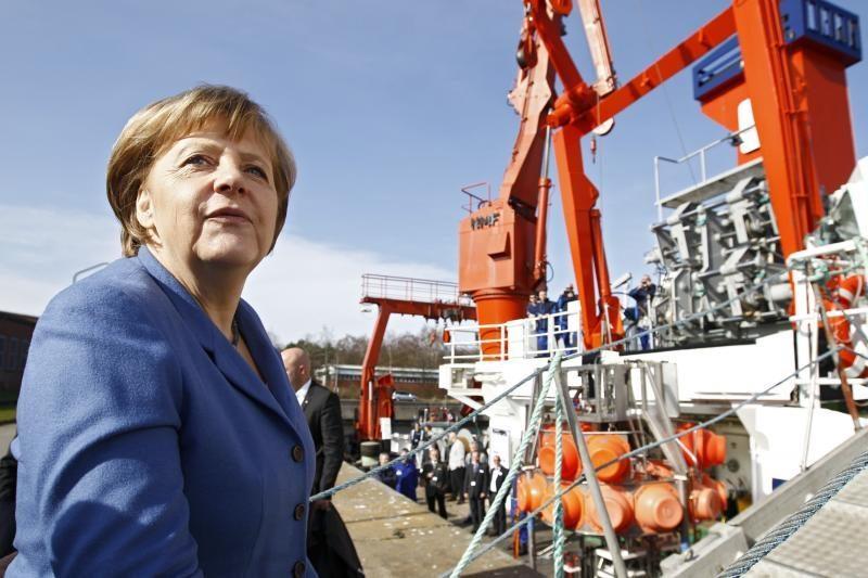 A.Merkel partija patyrė rimtą nesėkmę svarbiame šalies regione