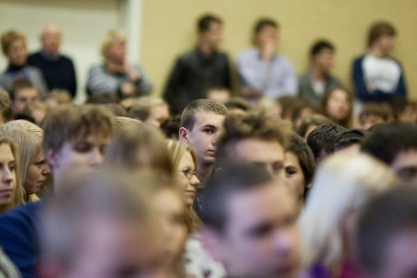 Mykolo Romerio universitete – diskusija su žymiais žmonėmis apie jauno žmogaus kelią