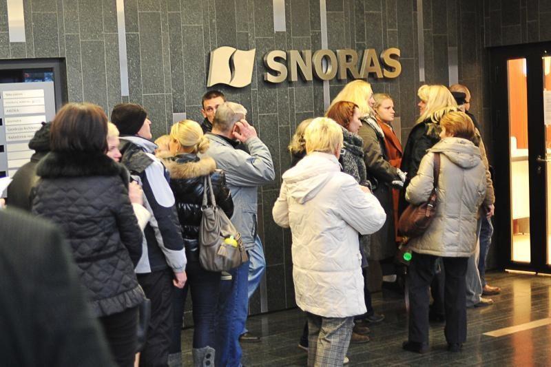 """Teismas antradienį nenutarė, ar priima ieškinį dėl """"Snoro"""" bankroto"""