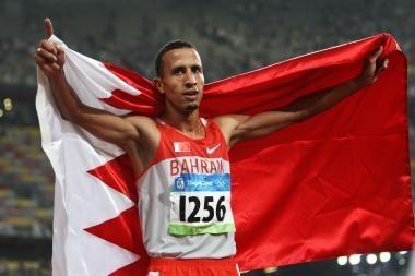 Bahreino bėgikas neteko Pekino olimpinių žaidynių čempiono medalio