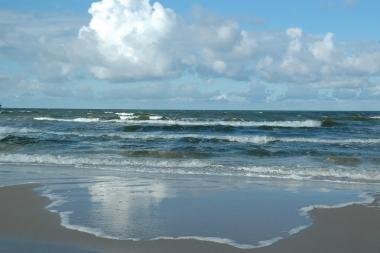 Vandens lygis Baltijos jūroje gali nukristi iki rekordiškai žemos ribos