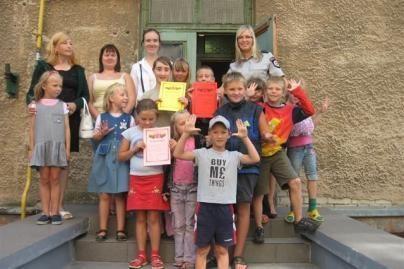 Vilijampolės pareigūnai rūpinosi vaikų saugumu