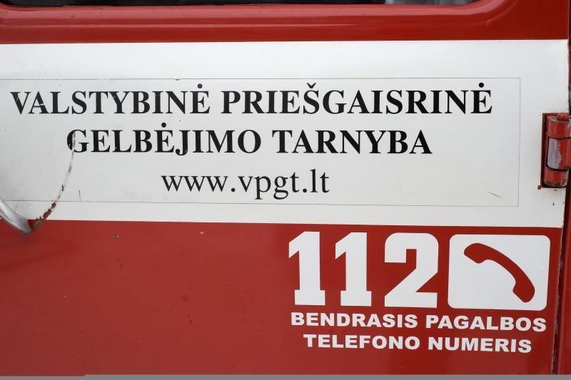 Antradienį Klaipėdos regiono ugniagesiai gesino tris automobilius (atnaujinta)