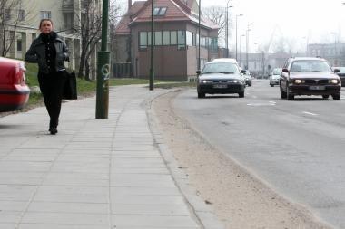 Uostamiesčio gatvėse valomos dulkės