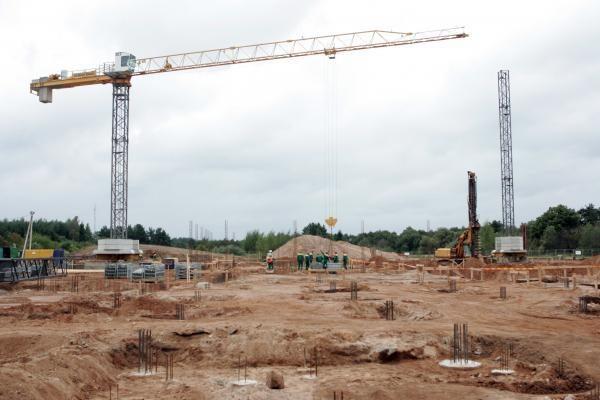 Statybos darbų trečiąjį ketvirtį palyginus su pernai padaugėjo 8,7 proc.