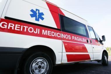 Komos būklės kūdikis iš Klaipėdos skubiai pervežtas į Kauno klinikas