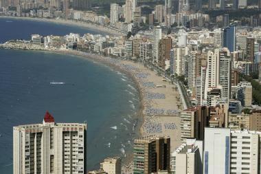 """Ispanijos paplūdimiuose galios """"sausas"""