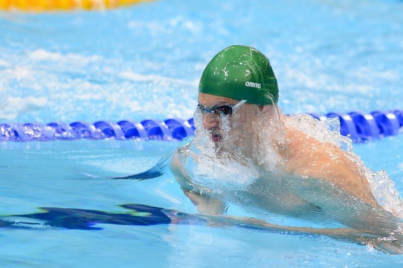G. Titenis pateko į Europos čempionato 100 m. krūtine pusfinalį
