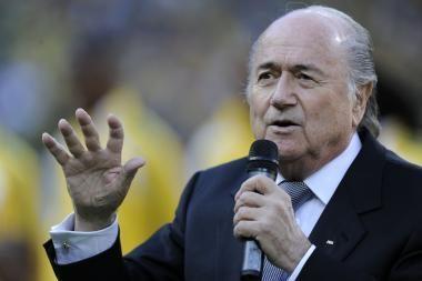 FIFA prezidentas finale nematė garbingo žaidimo