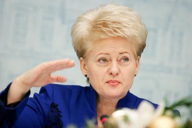 "D.Grybauskaitė dėl ""Sodros"