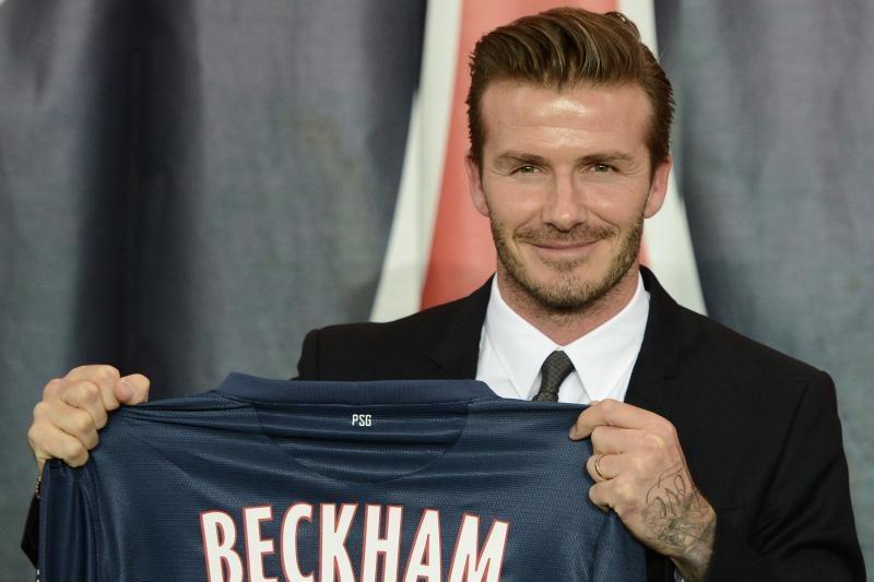 D.Beckhamas visus Prancuzijos klube uždirbtus pinigus paaukos labdarai