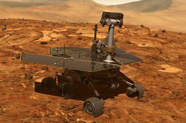 Robotai Marsą tyrinėja jau penkerius metus