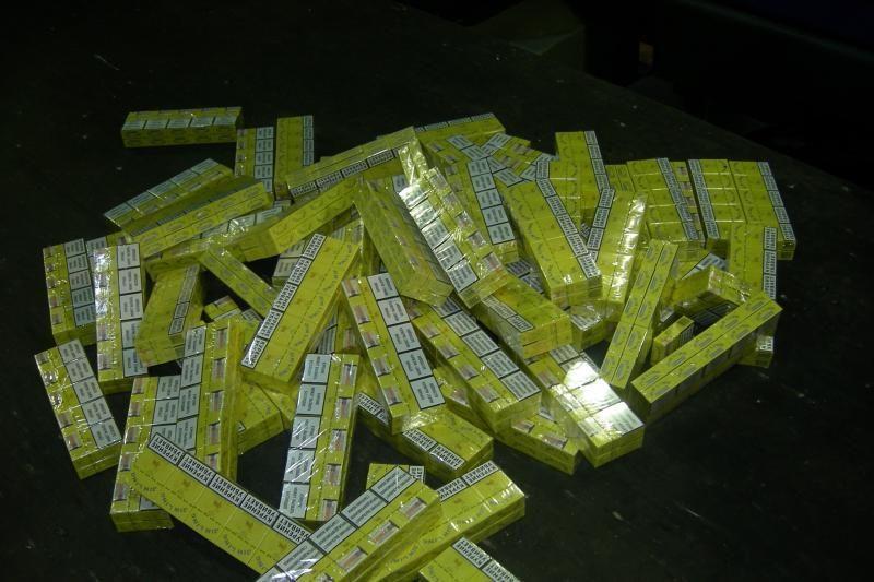Marijampolėje išaiškintas kontrabandinių rūkalų sandėlys