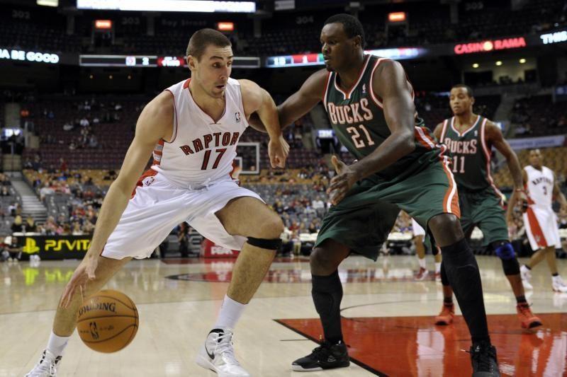 J. Valančiūnas ir D. Motiejūnas - svarbios figūros NBA komandose