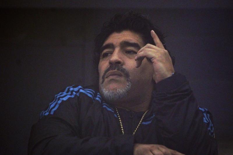 D.Maradona: niekas negali sulaikyti šios galingos mašinos
