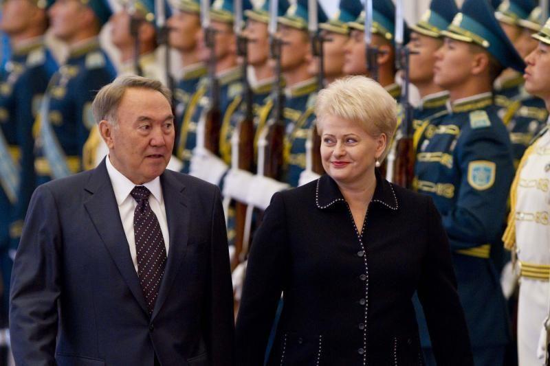 D.Grybauskaitė: Kazachstanas neleis politizuoti muitų sąjungos