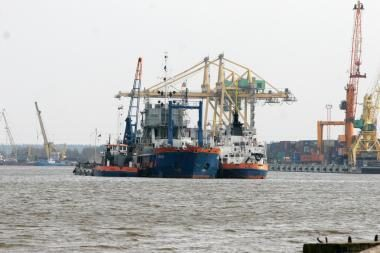 Klaipėdos uosto valymas: direkcija sulaukė 5 pasiūlymų