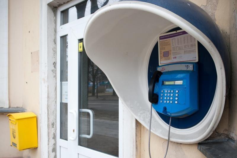 Tyrimas: taksofonais naudojasi 1,5 proc. Lietuvos gyventojų