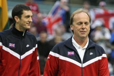 Britų teniso rinktinės kapitonas pasitraukė iš posto