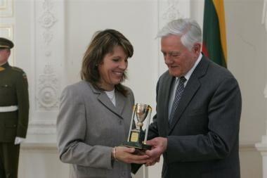 Parolimpinei vicečempionei - Prezidento taurė