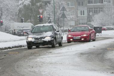 Klaipėdoje protestavo tik apie 20 vairuotojų