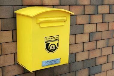 Pašto ir pasiuntinių rinka smuko penktadaliu - iki 51 mln. litų