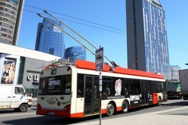 Iki kitų metų vidurio sostinė turėtų likti be popierinių viešojo transporto bilietėlių
