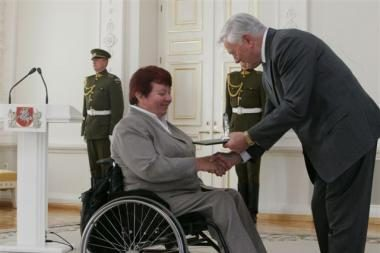 Prezidentas pasveikino parolimpiečius