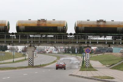 Šiemet tranzitinių krovinių pervežimas geležinkeliais išaugo daugiau nei 40 proc.