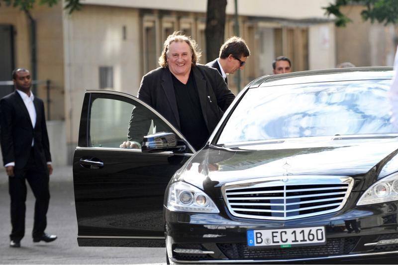 G.Depardieu po avarijos Paryžiuje neišlaikė alkoholio testo