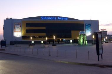"""Vilnius toliau šelps """"Siemens"""" areną"""