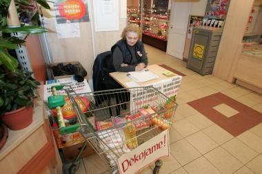 """""""Maisto bankas"""": šiemet klaipėdiečiai buvo dosnesni"""