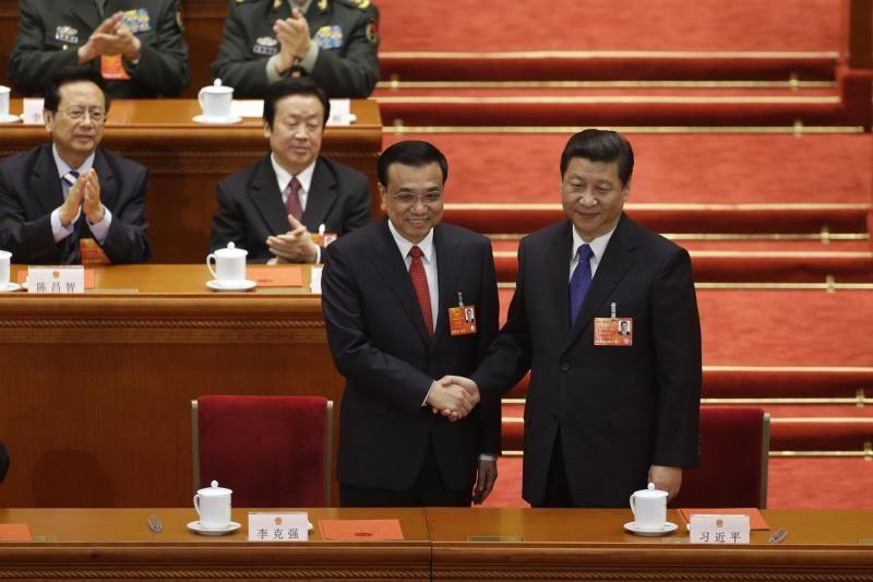 Li Keqiangas patvirtintas Kinijos premjeru