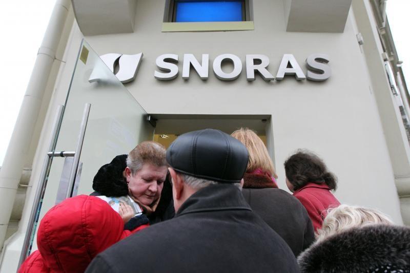 """""""Snoro"""" komisija banko administratoriaus prašo išlaidų ataskaitos"""