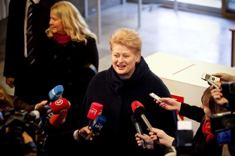 D. Grybauskaitė: Lietuvai reikia nesavanaudiškų draugų
