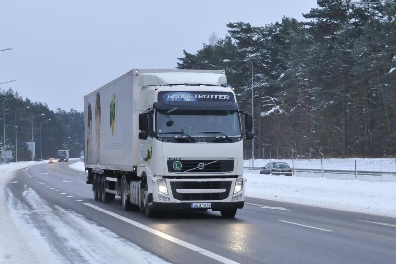 Keliuose padaugėjo ekologiškų sunkvežimių