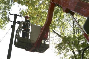RST tikina: be elektros jų teritorijoje beveik 700 žmonių