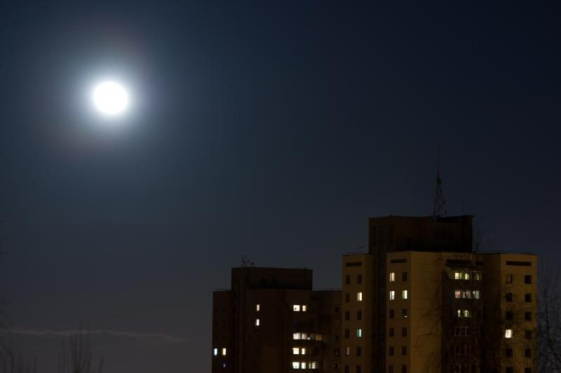 Savaitgalį - Tarptautinė mėnulio stebėjimo naktis