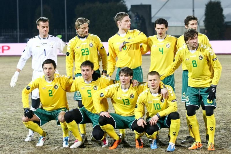 Lietuvos futbolo rinktinės sudėtyje - vartininkų permainos
