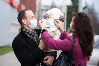 Panevėžyje - septintoji oficialiai patvirtinta pandeminio gripo auka